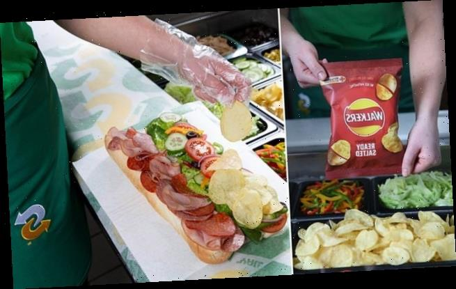 Subway launch crisps as a sandwich filling from today