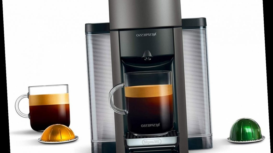 Jessica Alba Brews a Cup of Coffee with This Nespresso Machine Almost Every Morning