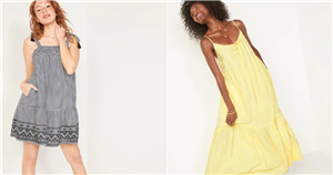 25 Everyday Dresses From Old Navy That'll Make Summer Wardrobe Planning a Breeze