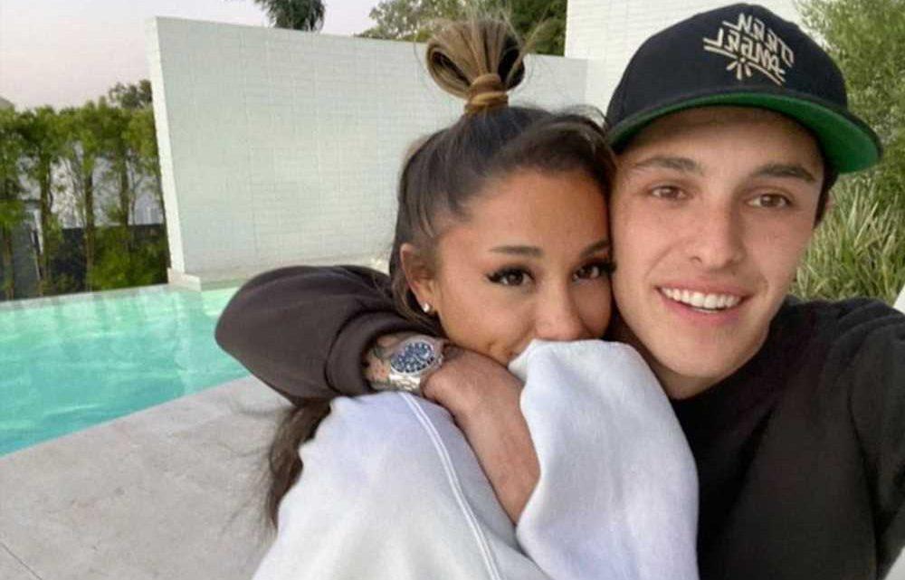 Ariana Grande's 'tasteful' wedding band was designed by Dalton Gomez