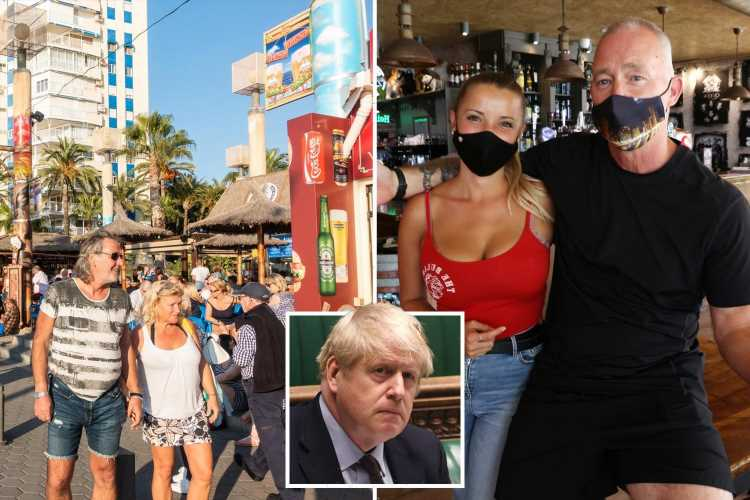 Benidorm pubs crippled by Covid plead with Boris to put Spain on green list