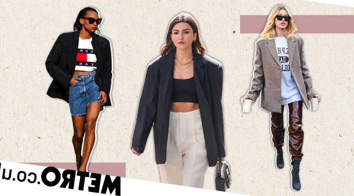 Big blazer energy: Upgrade your daywear with this street style staple