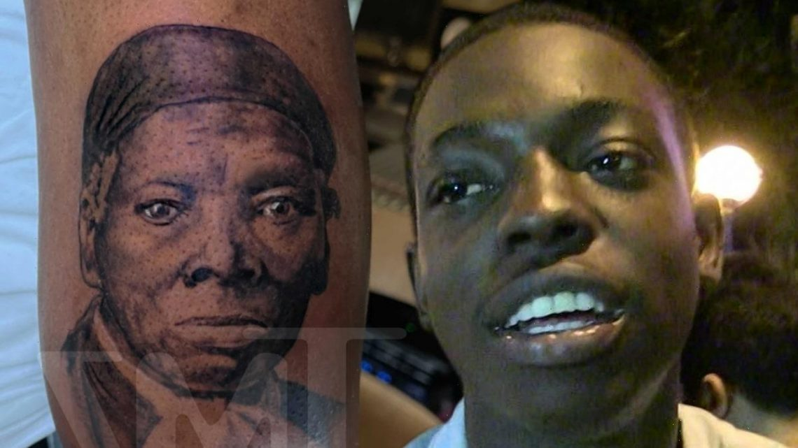 Bobby Shmurda's New Harriet Tubman Tattoo Meant to Honor Mom, Grandma