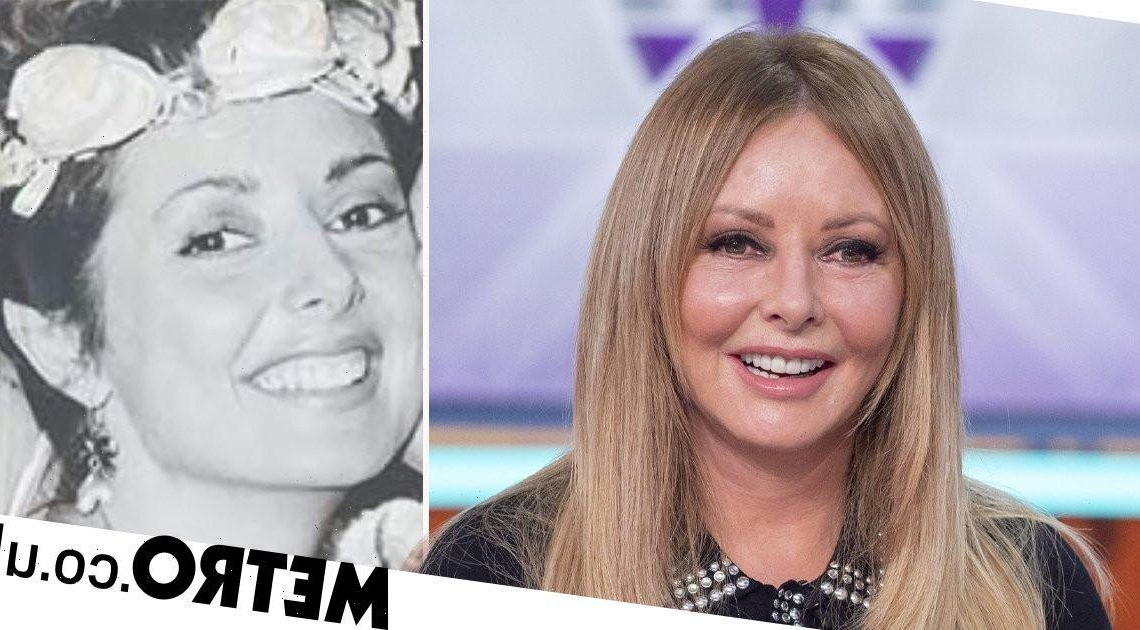 Carol Vorderman posts throwback pic of her wedding day aged 24: 'It didn't last'