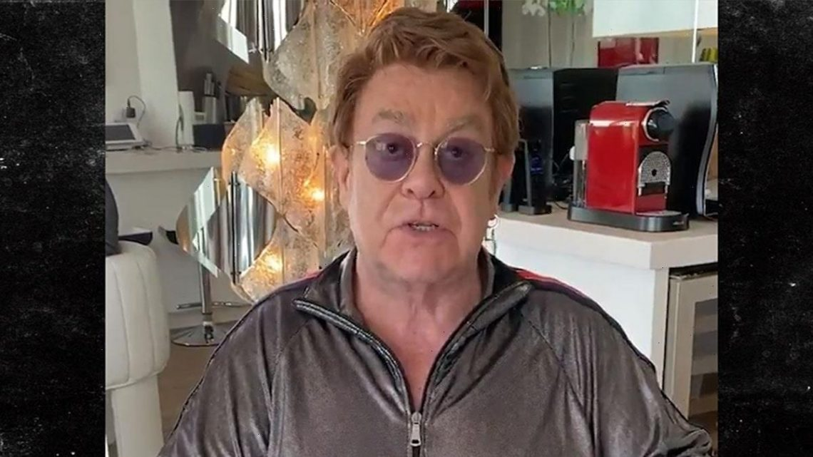 Elton John Donates $1 Million To Protect People With HIV from Coronavirus