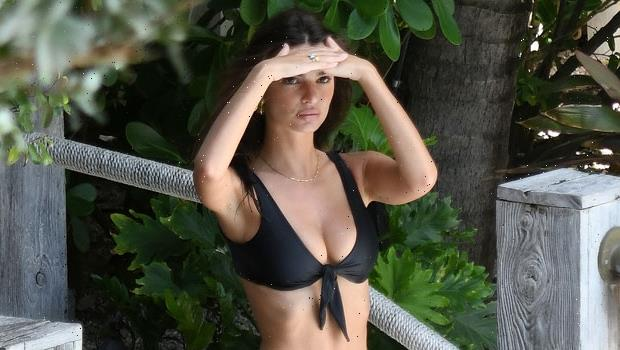 Emily Ratajkowski Sizzles In Ultra Stringy Bikinis 2 Months After Giving Birth To Baby Sly