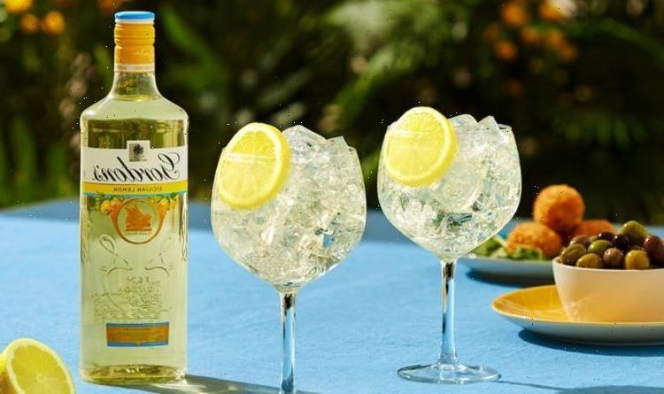 Gordon's brings back Sicilian Lemon Gin for the summer – where to get it