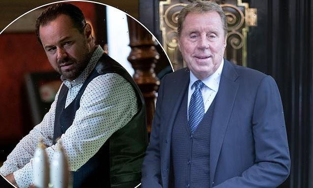 Harry Redknapp confirms EastEnders role as he's seen arriving on set