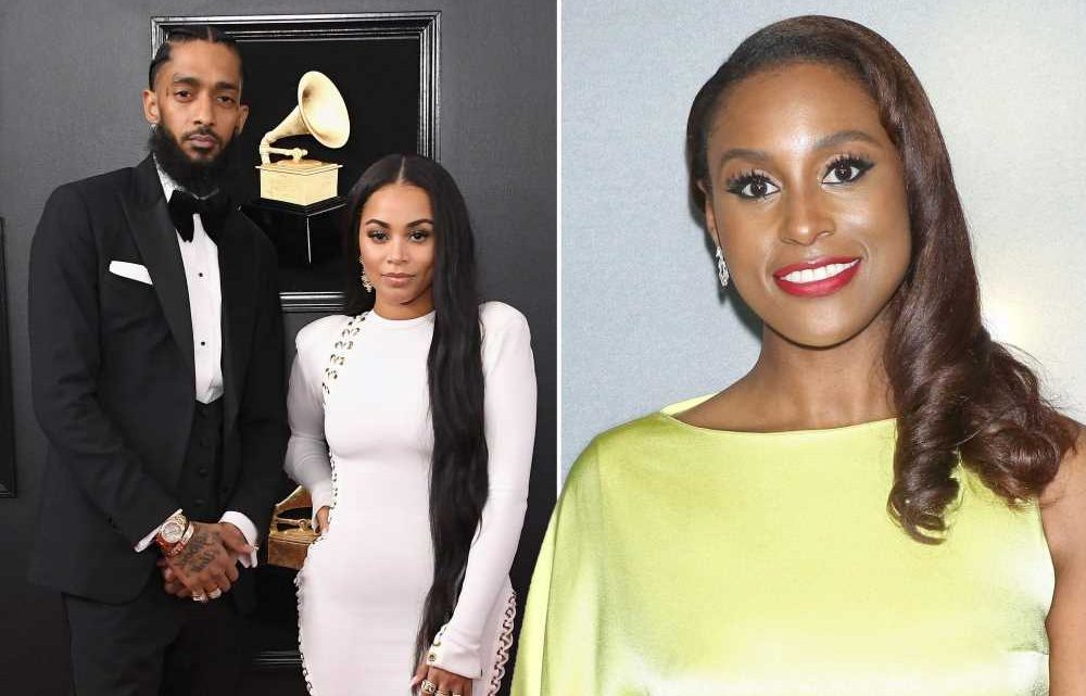 Issa Rae says Nipsey Hussle helped mend her relationship with Lauren London