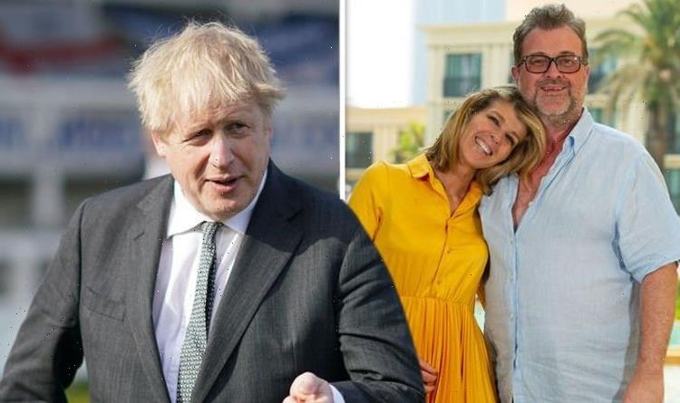 Kate Garraway details personal letter from Boris Johnson amid husband's health ordeal