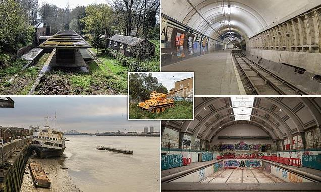 London's unexpected treasures revealed in fascinating photo book