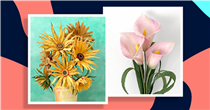 Making paper flowers is the perfect mindful arts and crafts hobby
