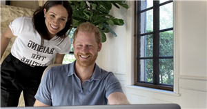 Meghan Markle and son Archie make surprise appearance in Prince Harry's mental health series trailer