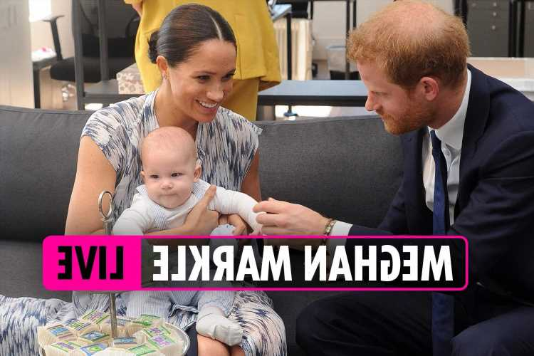 Meghan Markle latest news – Harry and Meghan's son Archie is already learning to count and 'keeps saying two'