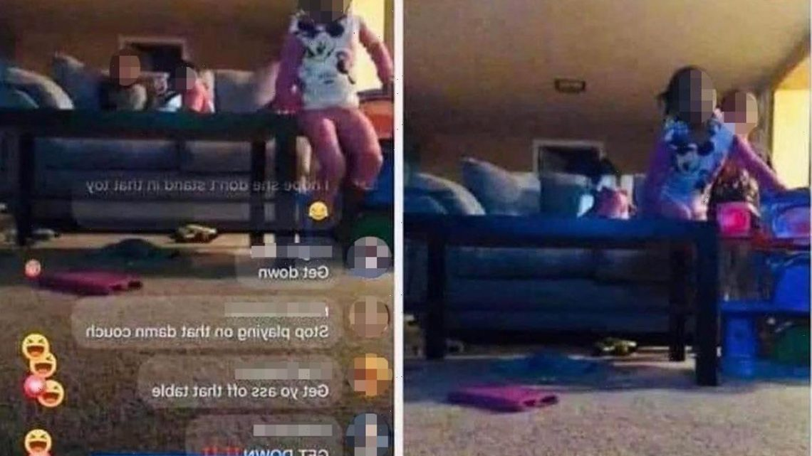 Mum sparks outrage after putting her kids on Facebook live and asking her friends to watch them while she 'has a smoke'