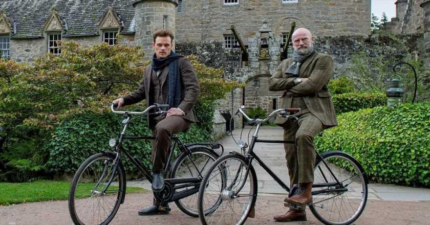 Outlander's Sam Heughan and Graham McTavish take us on a personal tour of Scotland