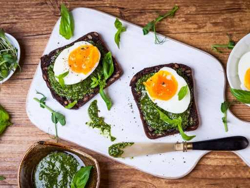 Pesto Eggs Are The Latest TikTok Food Trend We Can't Wait to Try