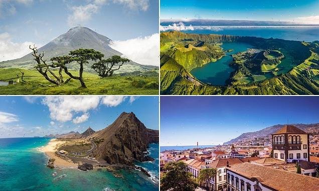 Plot an escape to Portugal's paradise isles of Madeira and the Azores