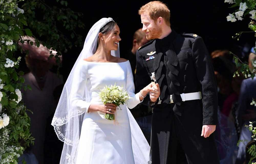 Prince Harry, Meghan Markle get well-wishes on 3rd wedding anniversary