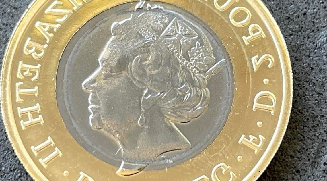 Rare £2 coin released this year could be worth £1,000 due to design error
