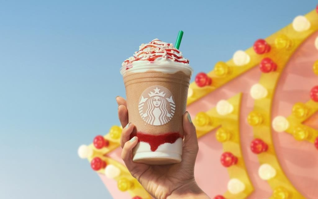 Starbucks's New Summer Drink Is Like Your Favorite Carnival Treat in a Cup