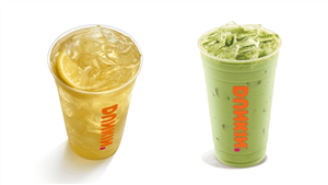 The Caffeine In Dunkin's Green Tea & Matcha Drinks Will Keep You Energized