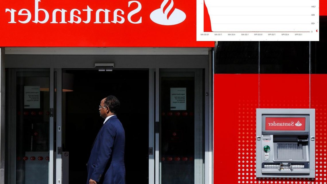 Thousands of Santander customers locked out of app, telephone and internet banking