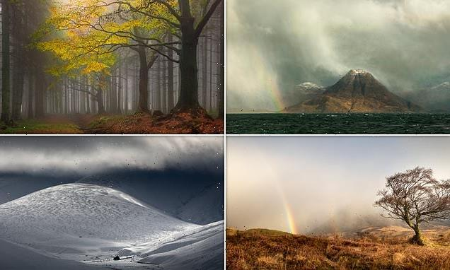 Train driver wins Scottish Landscape Photographer of the Year