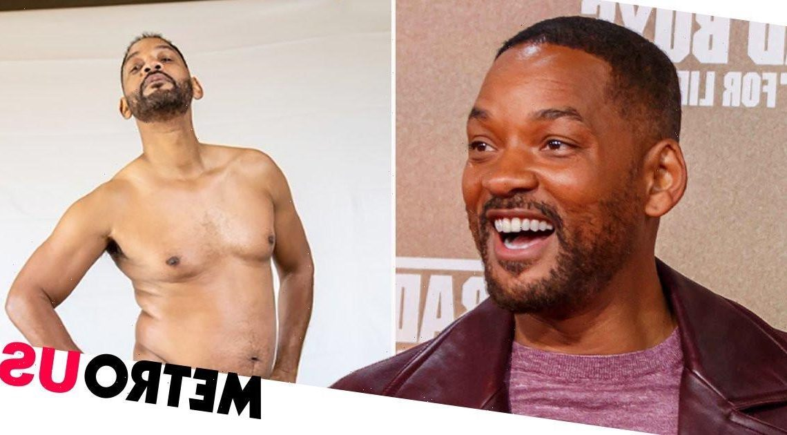 Will Smith jokes he 'looks like a circle' as he hits gym on fitness mission