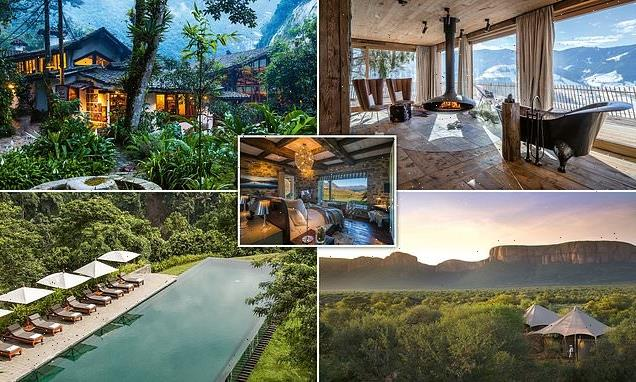 World's finest mountain hotels and retreats revealed in lavish book
