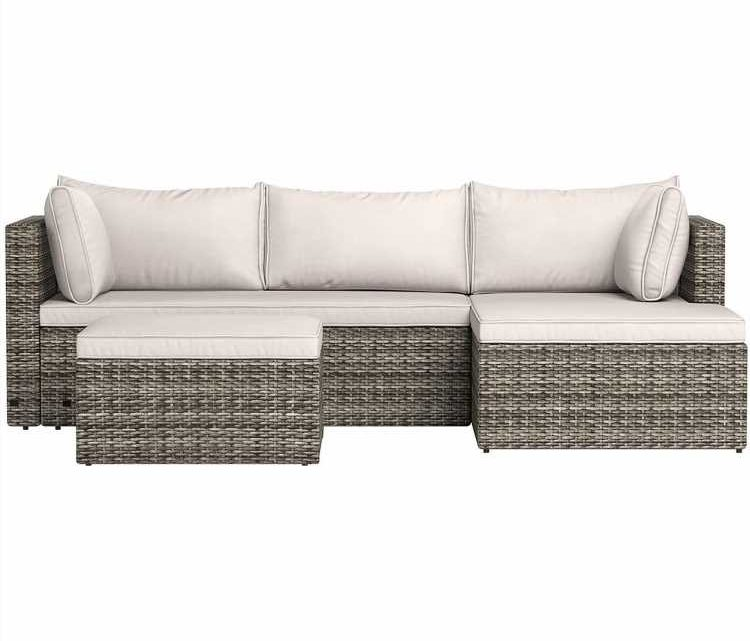 You Can Get One of the Last-in-Stock Outdoor Sectionals on Amazon for Under $475 Right Now