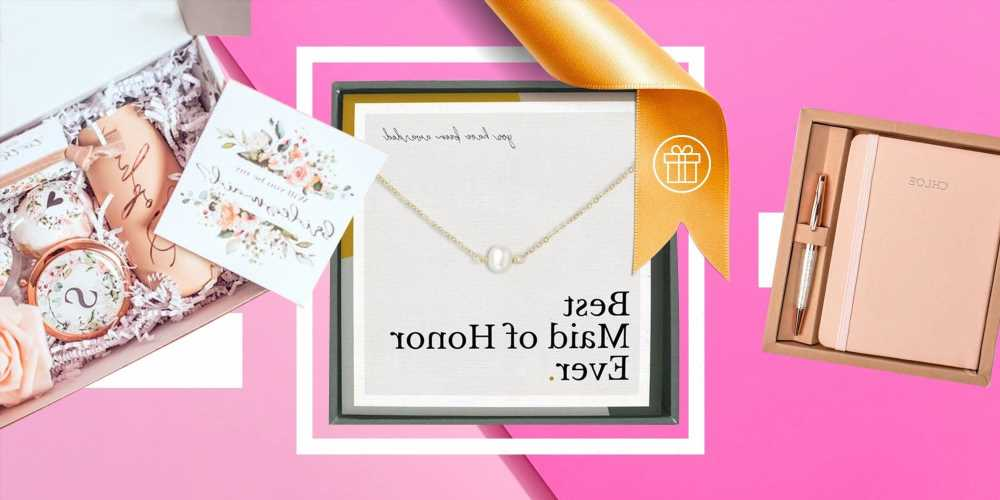 30 Best Maid Of Honor Gifts For 2021 Brides