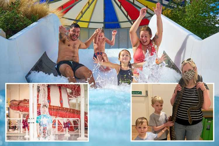 Butlin's in Bognor Regis is great for kids and you don't have to splash out to have fun