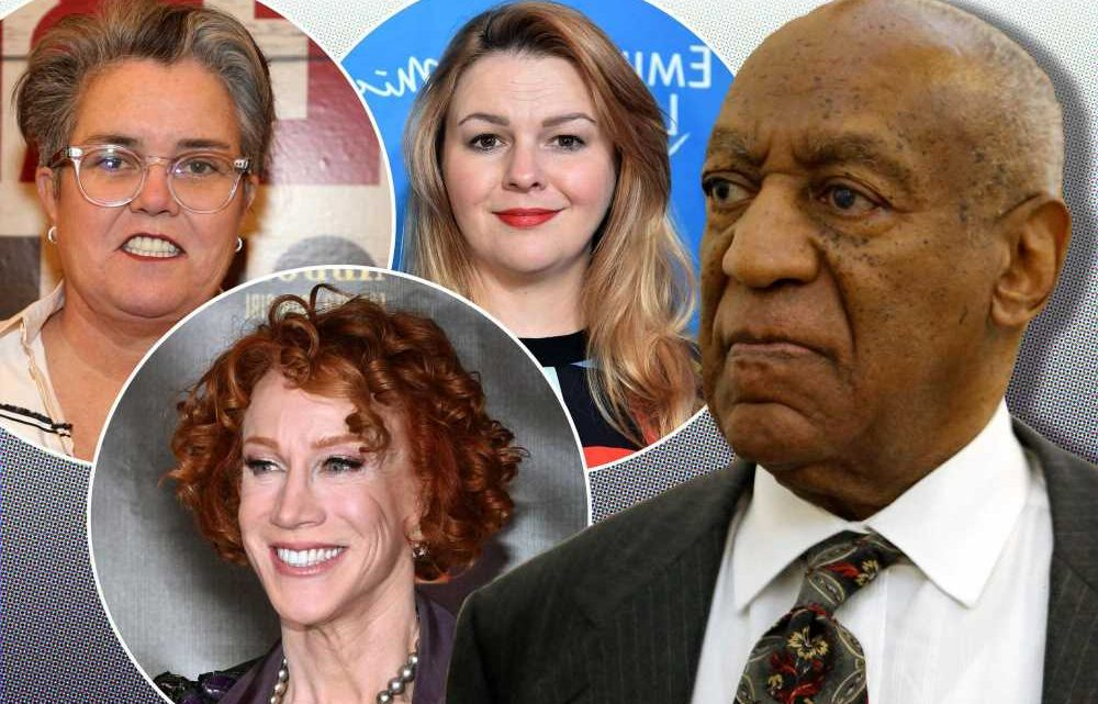Celebrities react to Bill Cosby's conviction being overturned