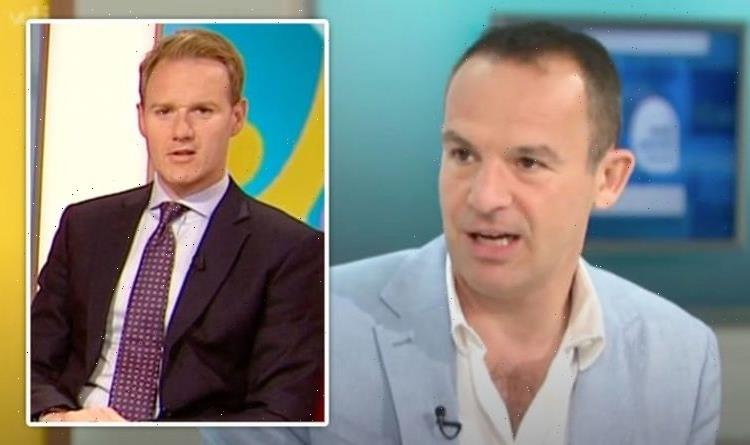 Dan Walker reaches out to Martin Lewis as GMB stand-in host reveals 'tough' part of show