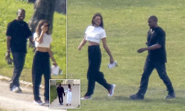 EXCLUSIVE: Kanye West rebounds with Irina Shayk