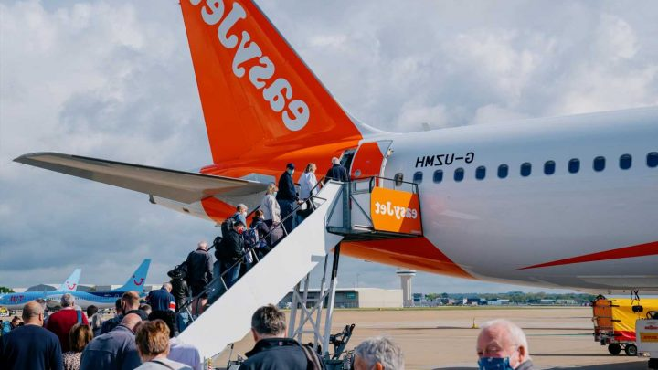 EasyJet launches 12 new domestic routes in England, Ireland and Scotland following staycation boom