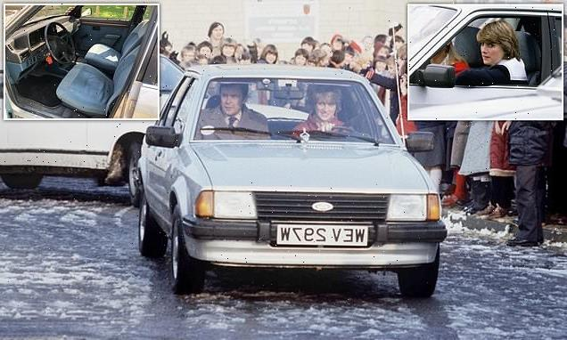 Ford Escort car Prince Charles gave Princess Diana is up for auction
