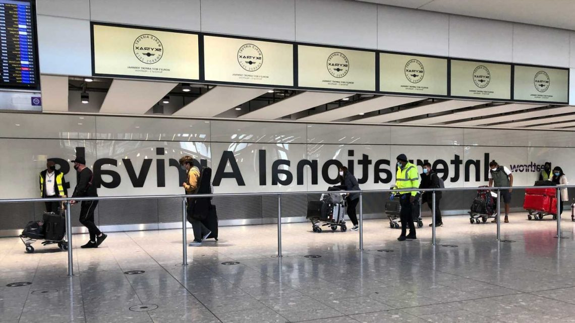 Heathrow Airport reopens terminal for travelers coming from high-risk countries