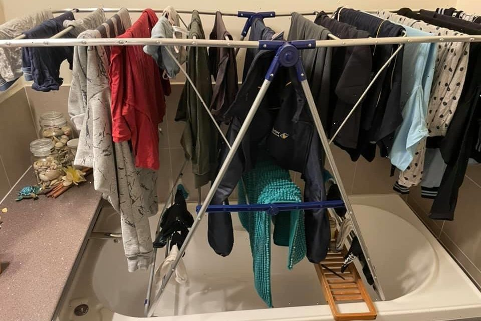 Mum reveals where she puts the airer so clothes dry 'in no time' – people think it's genius & it saves space too