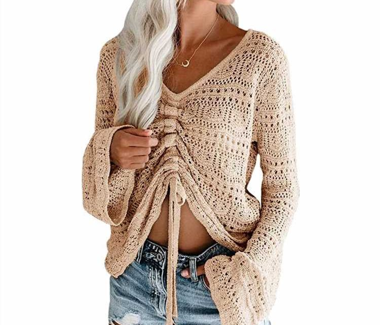 One Detail on This $30 Crochet Top Makes It So Versatile, It 'Can Be Worn Almost Everywhere'