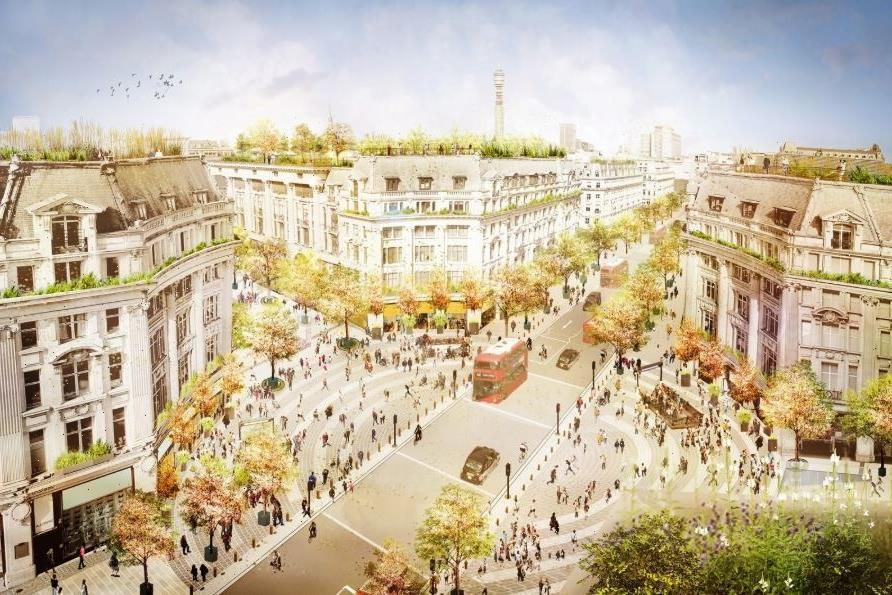 Oxford Circus to undergo major pedestrian-friendly transformation later this year