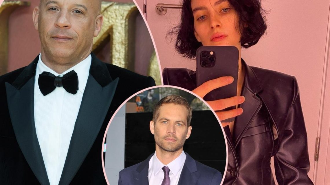 Paul Walker's Daughter Meadow Shows Support At F9 Premiere – And Vin Diesel Pays Tribute To Late Actor