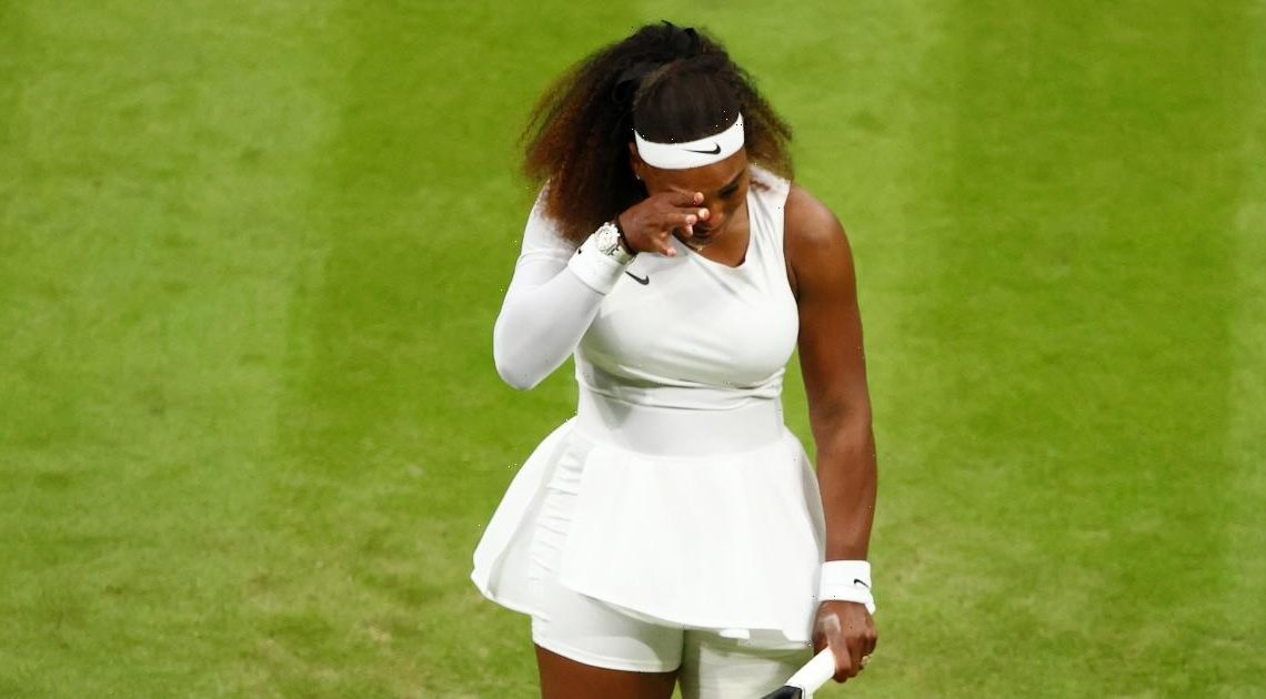 Serena Williams withdraws from Wimbledon due to injury