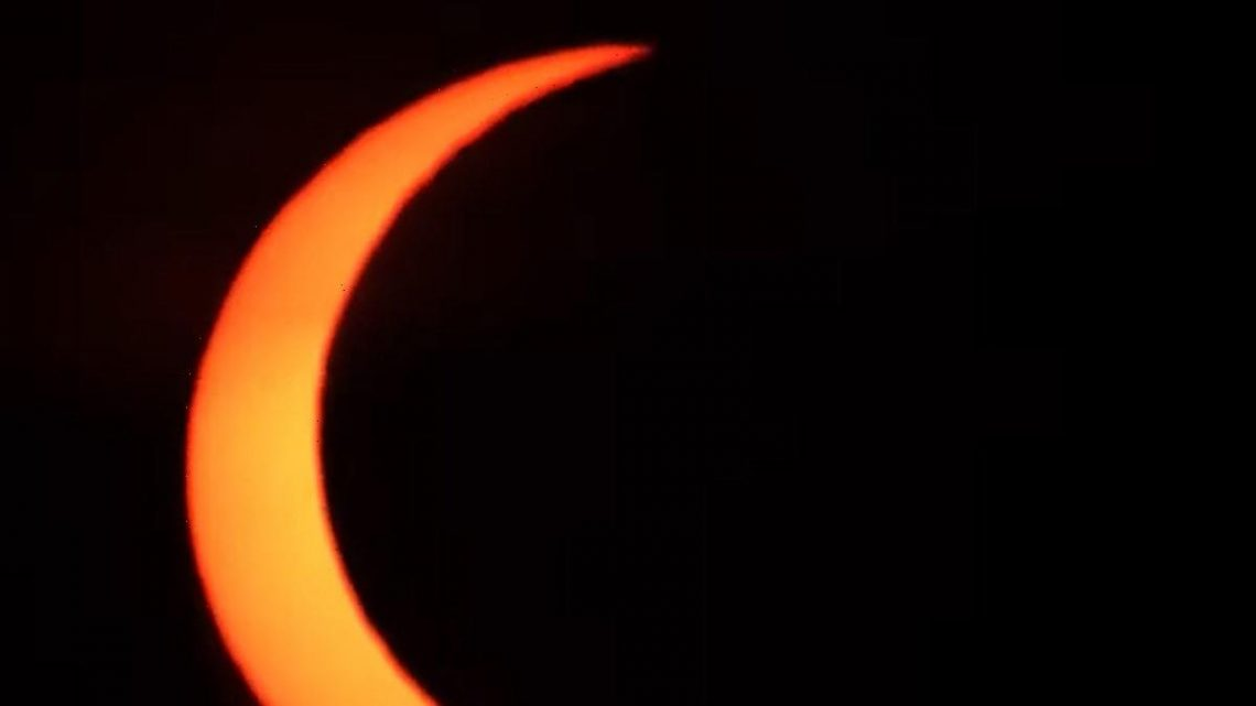 Solar Eclipse Dubbed 'Ring of Fire' Provides Stunning Images