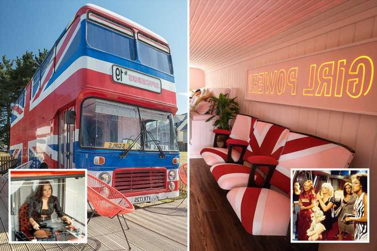 The REAL Spice Girls bus from Spice World the Movie is now a holiday home on the Isle Of Wight – you can stay from £78pp