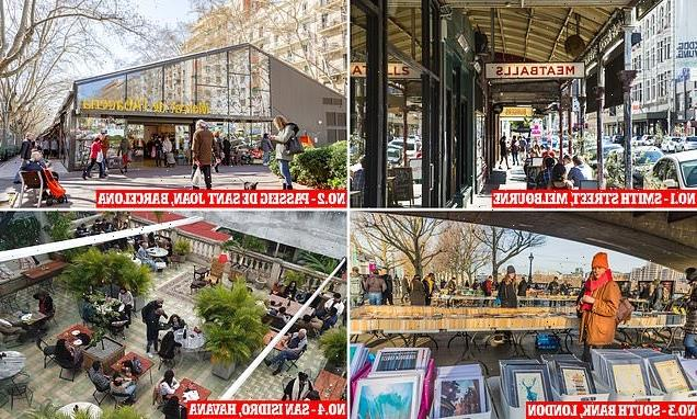 The 'coolest streets in the world right now' named by Time Out