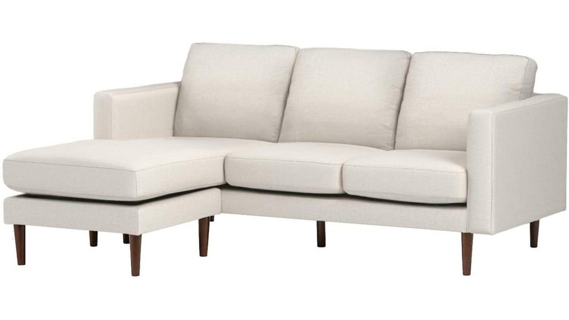 This Discounted Sectional Is So Comfortable, Shoppers Are Choosing It Over Their Beds