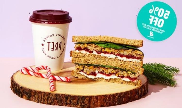 Deliveroo customers can get 50 percent off Pret Christmas sandwich – how to get