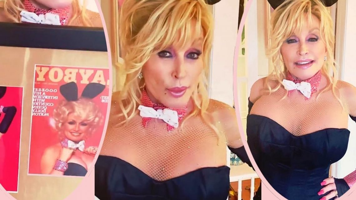 Dolly Parton Poses As Playboy Playmate At 75 – Making Good On Promise She Made Years Ago!